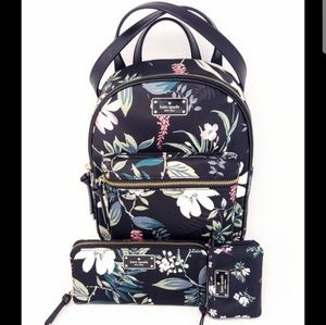 NWT kate spade Backpack, wallet & Pouch